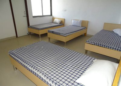 College hostel room